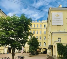 Catherine Art Hotel 4*, Завтрак